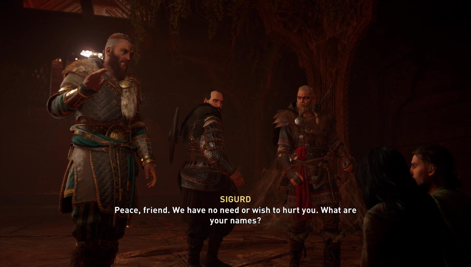 AC Valhalla Unwelcome Quest