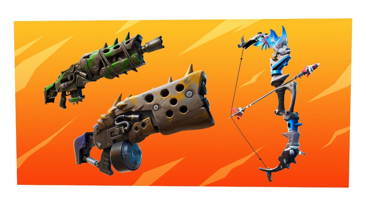 Fortnite Season 6 New Weapons