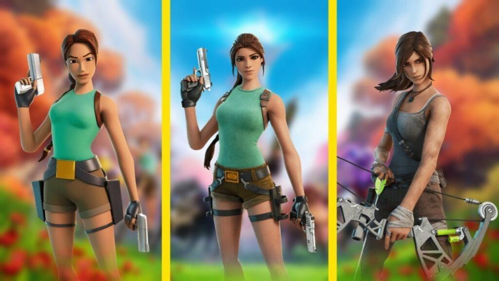 Fortnite Season 6 Lara Croft