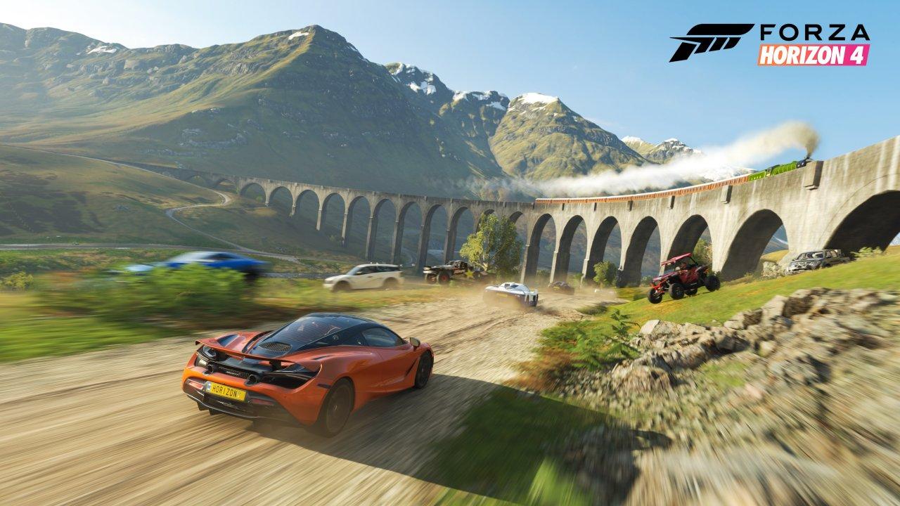 Forza Horizon 4 taking picture