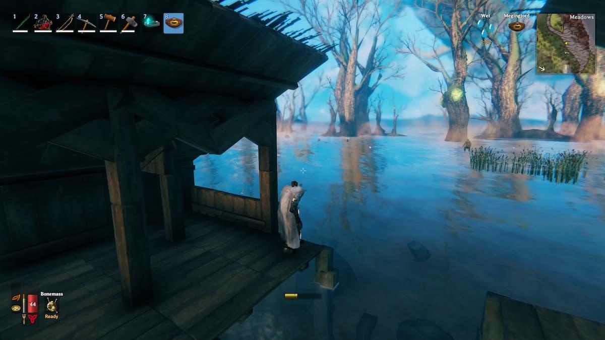 How to build Underwater in valheim