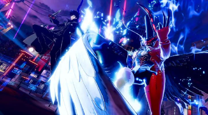 Persona 5 strikers defeating Akane's Joker
