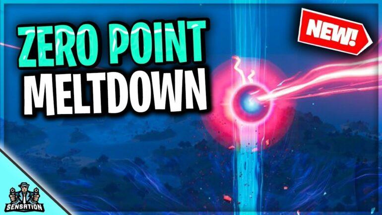 Fortnite Zero Point Finale