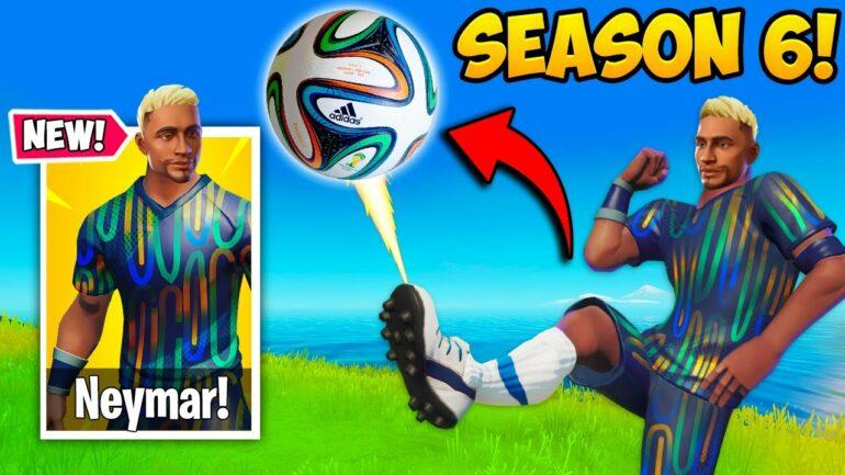 Fortnite Season 6 Neymar