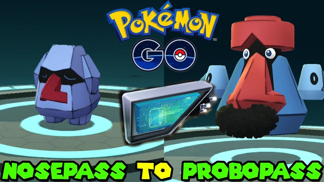 Pokemon Go: How to Evovle Nosepass into Probopass