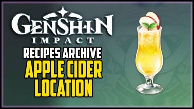 Genshin Impact Apple Cider