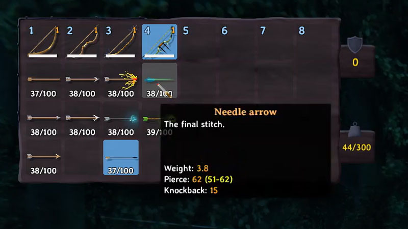 How to Craft Needle Arrows in Valheim