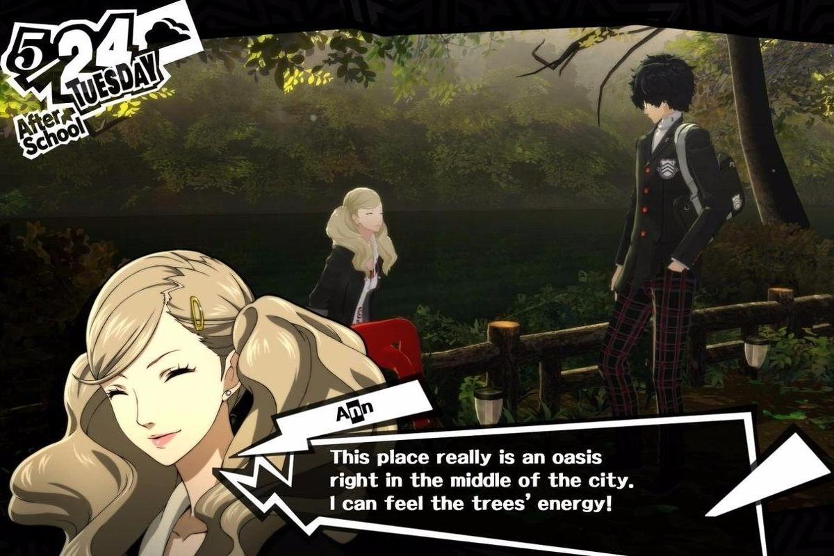 Persona 5 Romance Options