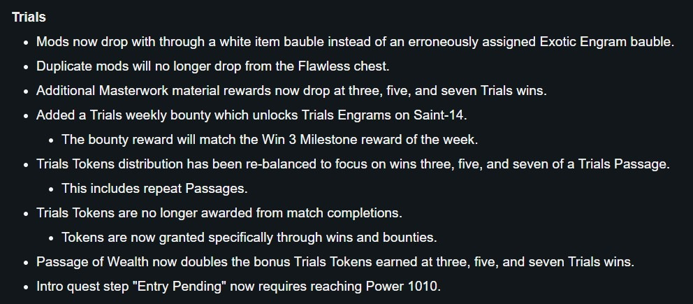 Destiny 2 Trials of Osiris guide