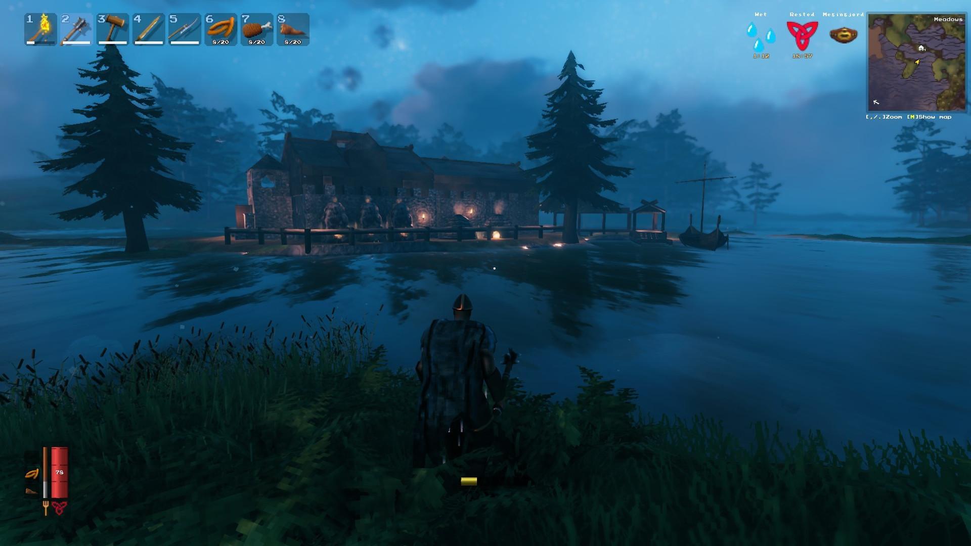 Valheim Guide to build underwater
