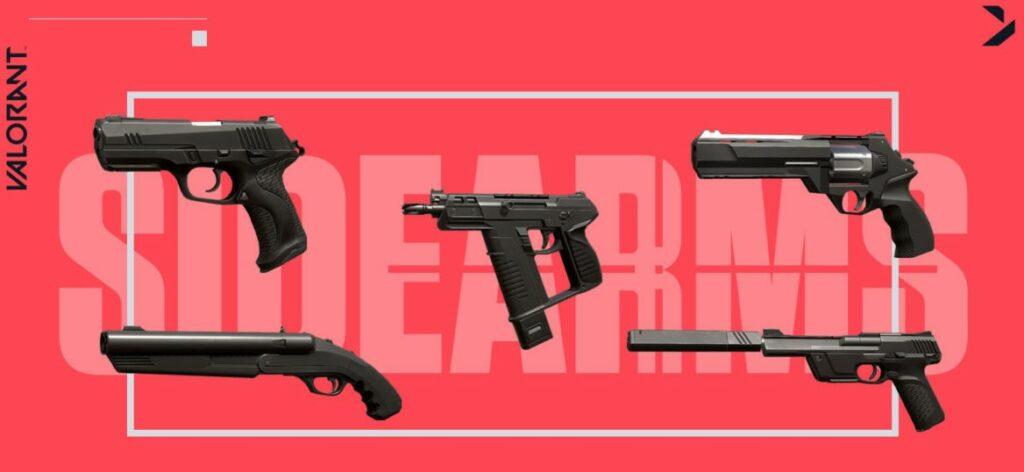 valorant weapons guide senpai SIDEARMS 1170x694 2