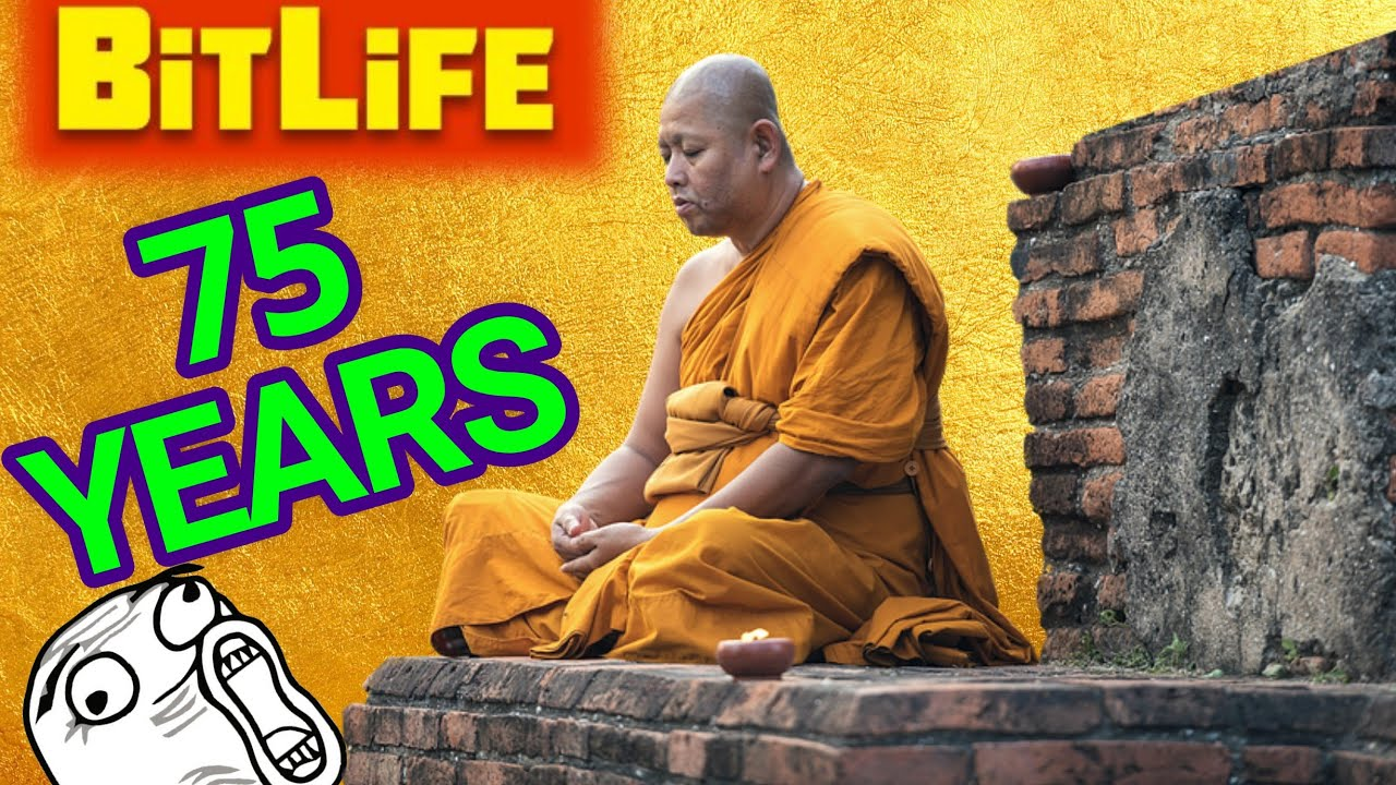 Early Days of a Monk in BitLife