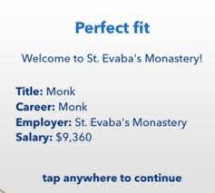 Being a Monk in BitLife