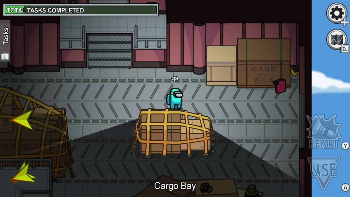 Avoid Cargo Bay in Among Us