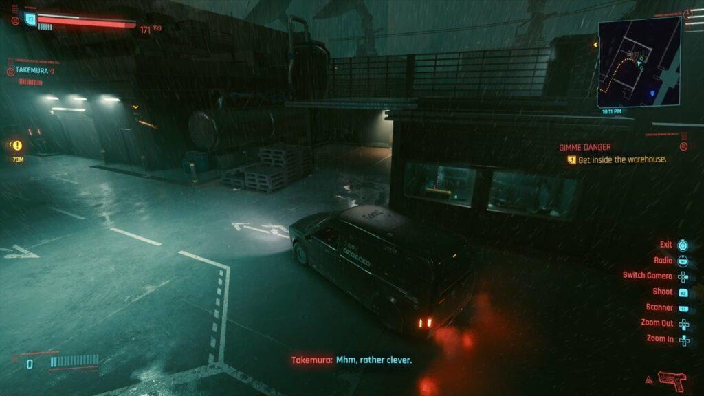 Cyberpunk 2077 Gimme Danger Quest
