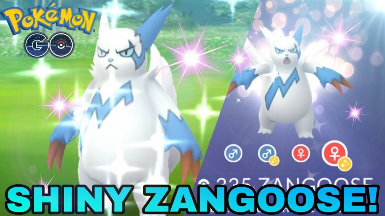 Defeat Zangoose in Pokemon Go