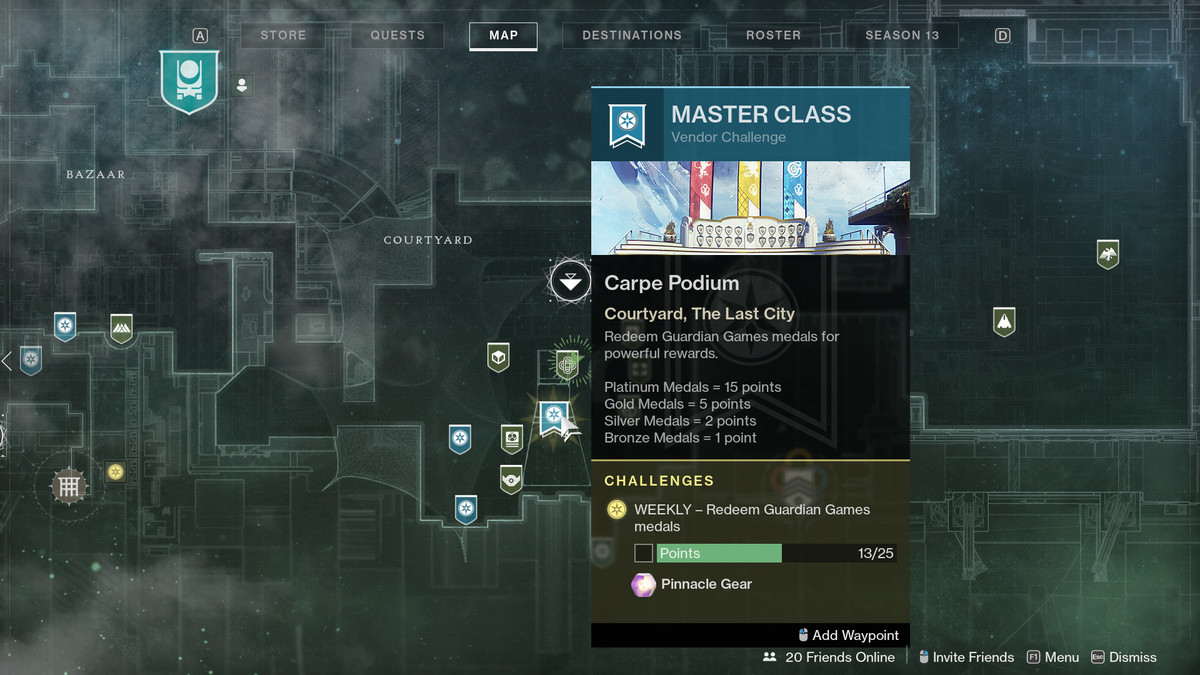 How to Earn Medals in Guardian Games, Destiny 2