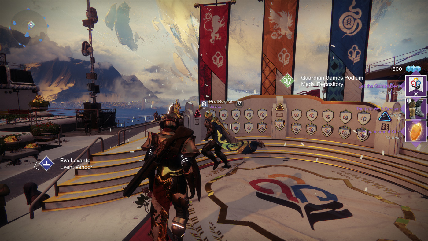 Guardian Games in Destiny 2 Guide