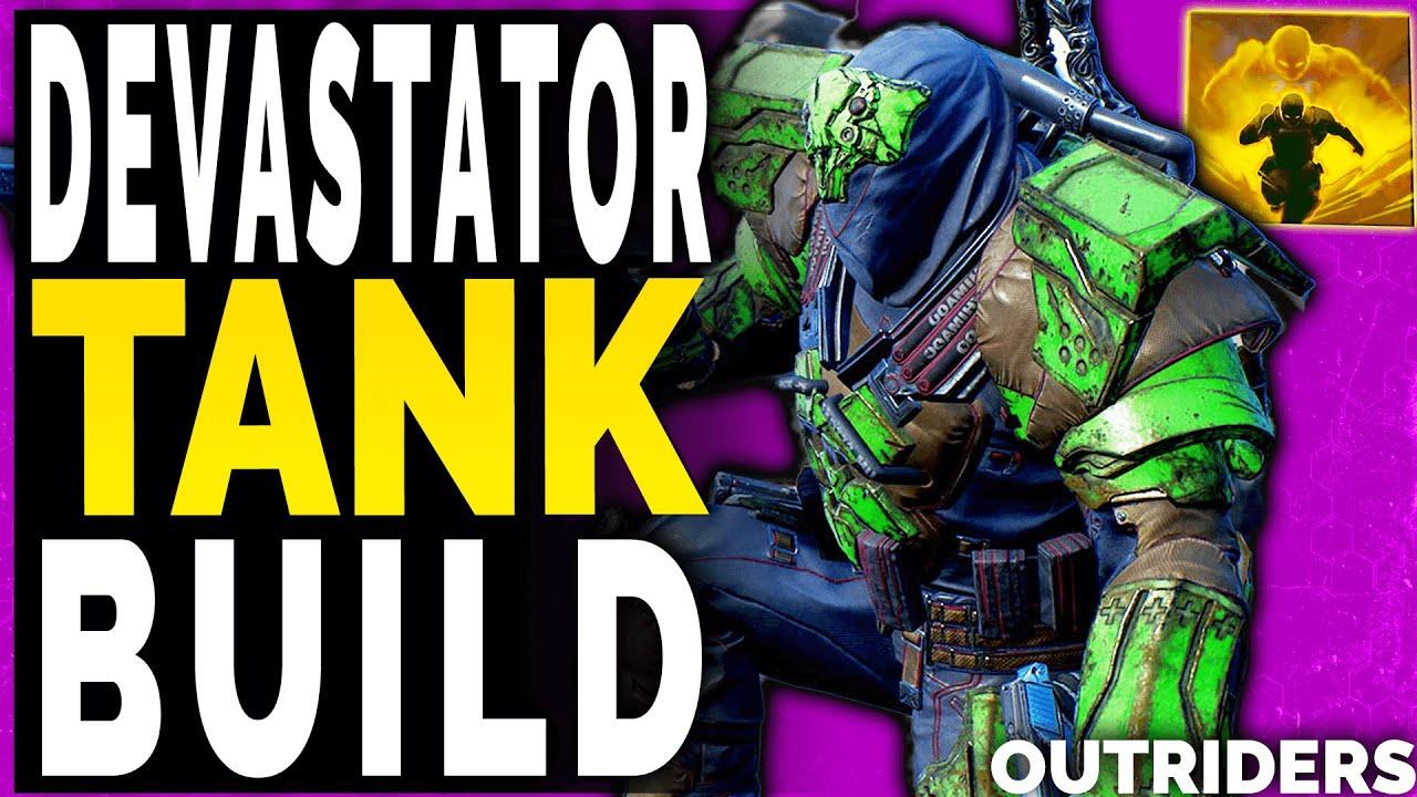 Outriders Best Devastator Tank Build Guide