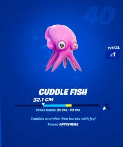 How to Catch Cuddle Fish in Fortnite