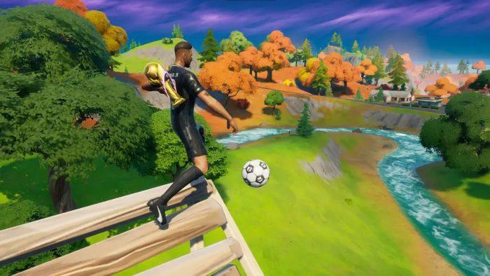 How to Drop Kick the Soccer Ball Toy 500 Meters as Neymar Jr in Fortnite 1
