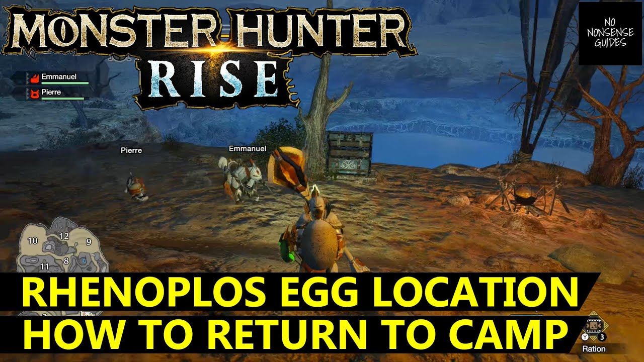 Where to Find Rhenoplos Eggs in Monster Hunter Rise