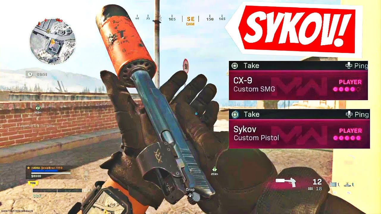 How to get Sykov Pistol in COD warzone