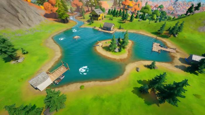 Lake Canoe in Fortnite