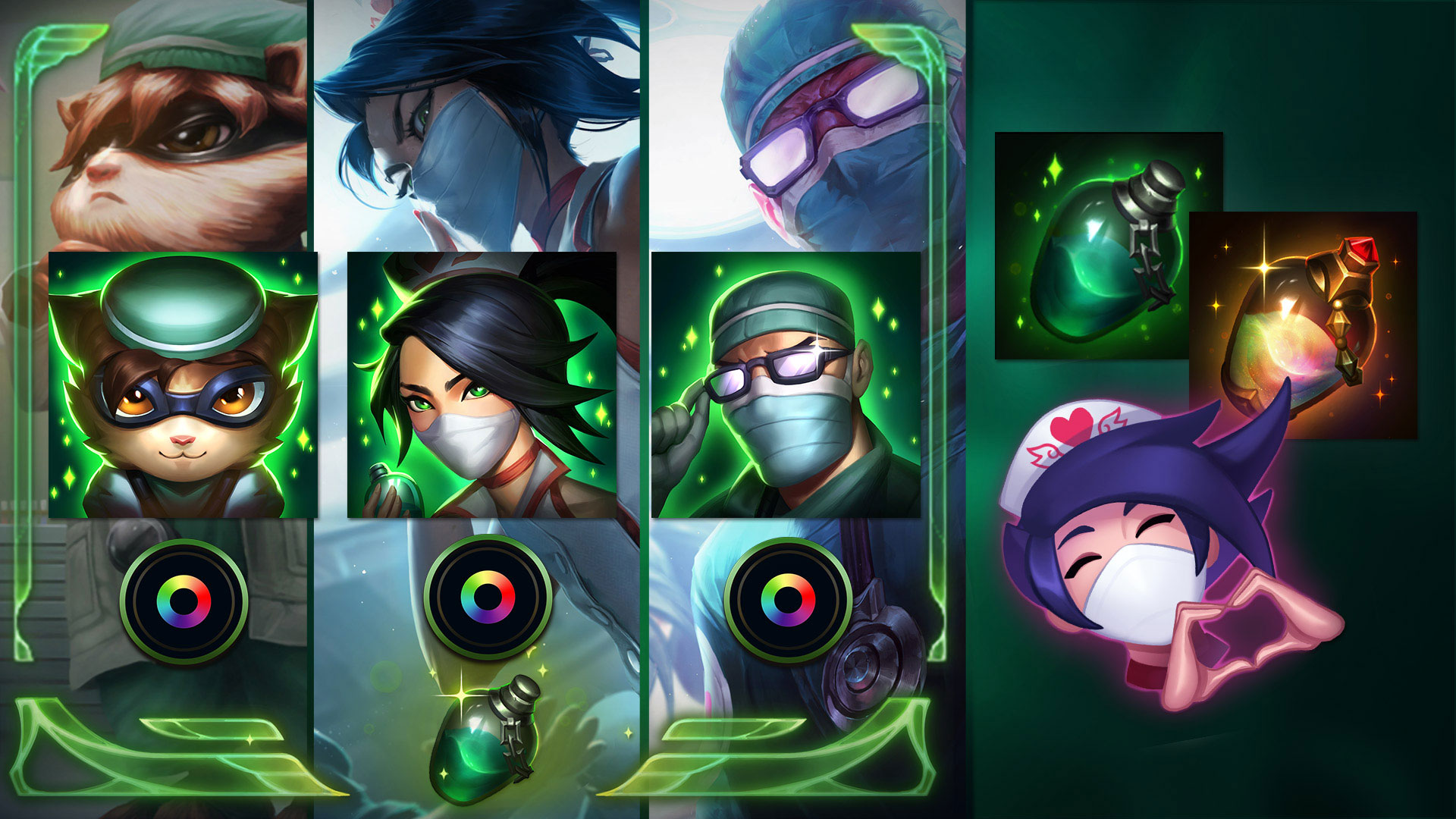 Covid-19 Relief by League of Legends