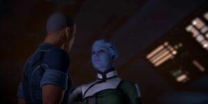 Mass Effect Liara Romance Male Shepard
