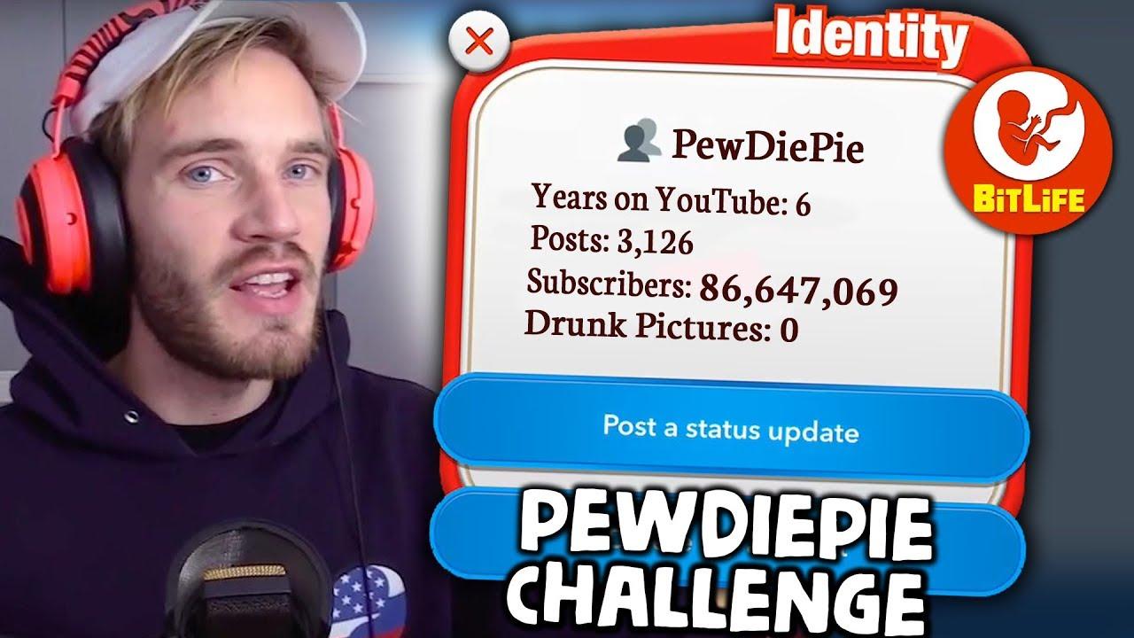 PewDiePie Challenge BitLife