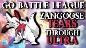 Beat Zangoose in Pokémon GO