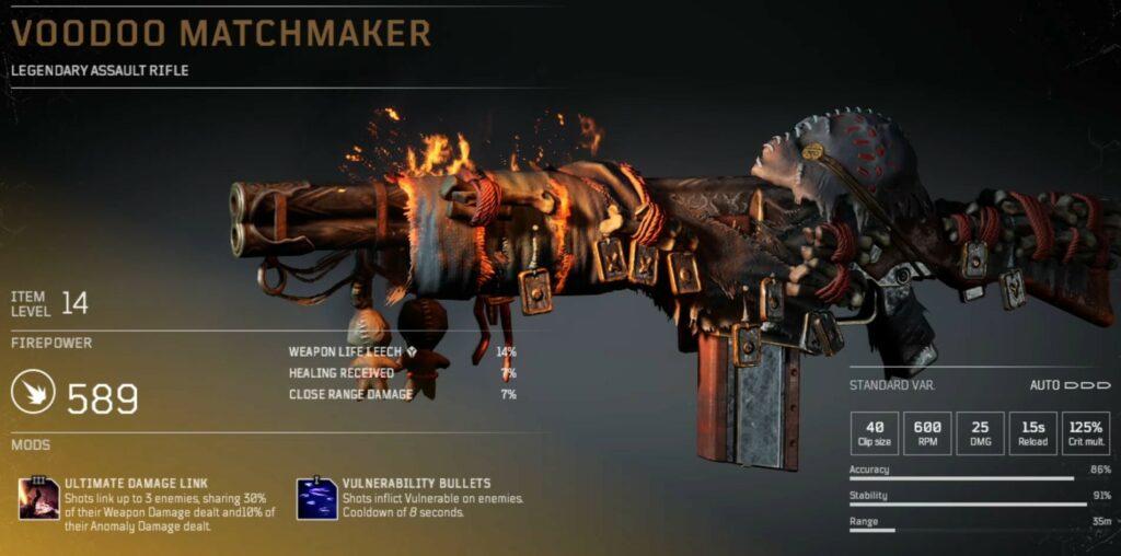 Voodoo Matchmaker ss