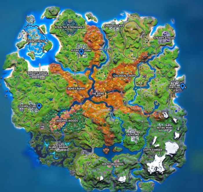 Where to talk to a Soccer Character in Fortnite Chapter 2 Season 6