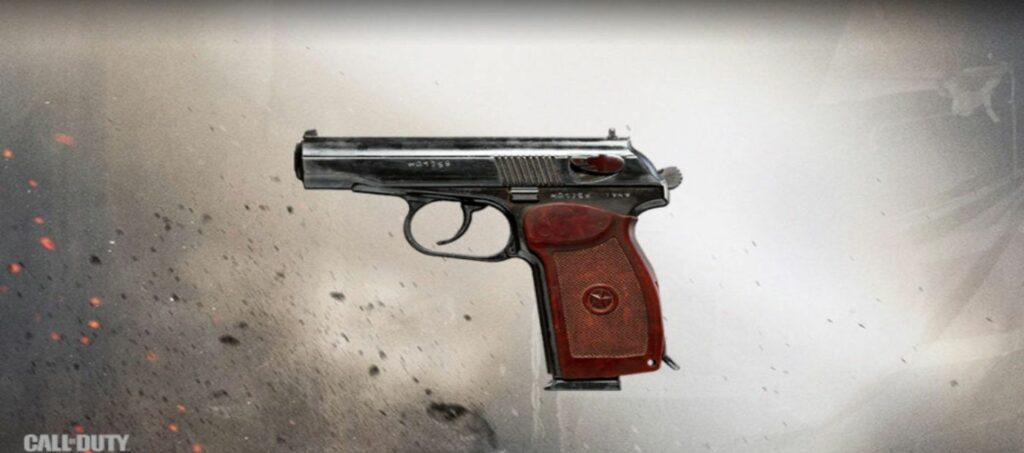 COD Warzone Sykov Pistol