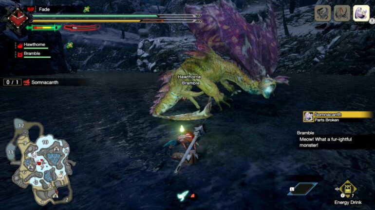 defeat-Somnacanth-in-monster hunter-rise