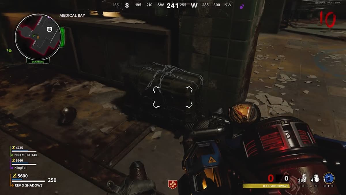 Upgrade a Die Shockwave in an Outbreak in Call of Duty Zombies