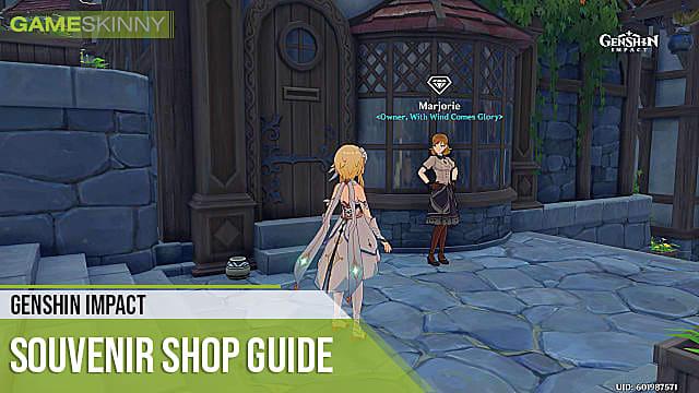 Genshin Impact Vendor and shop lists