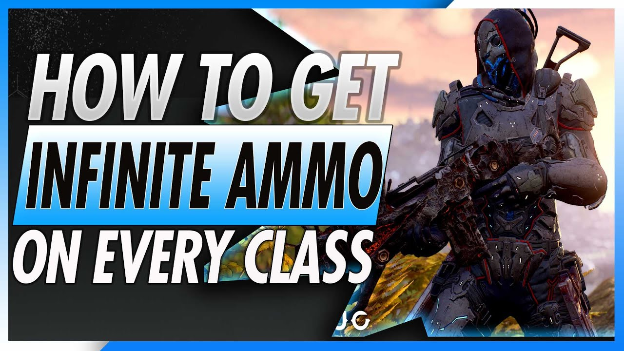 How to get infinite ammo in outriders