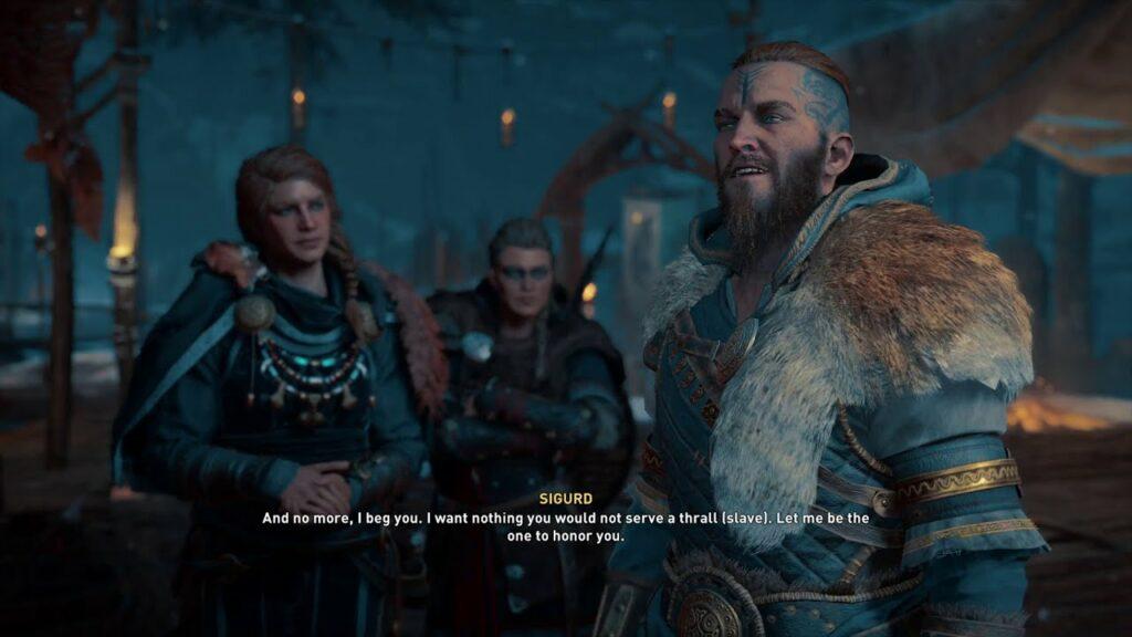 AC Valhalla Prodigal Prince Quest