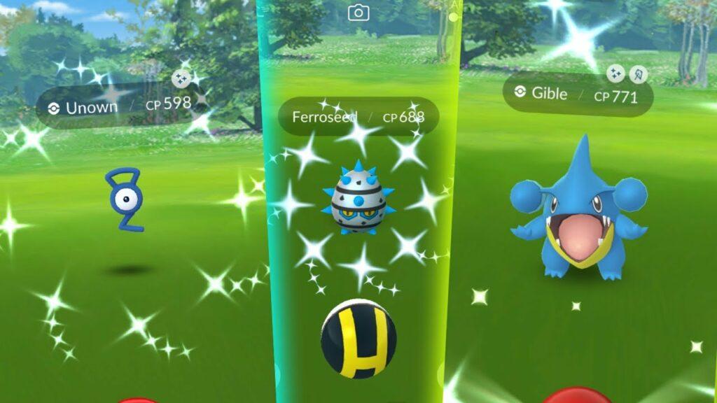Pokemon GO Shiny Ferroseed