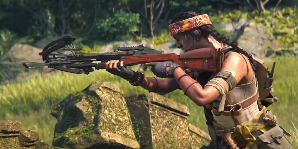 CoD Black Ops Cold War Crossbow