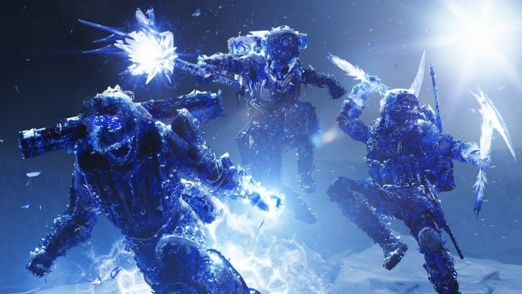 Destiny 2 Icefall Mantle Exotic