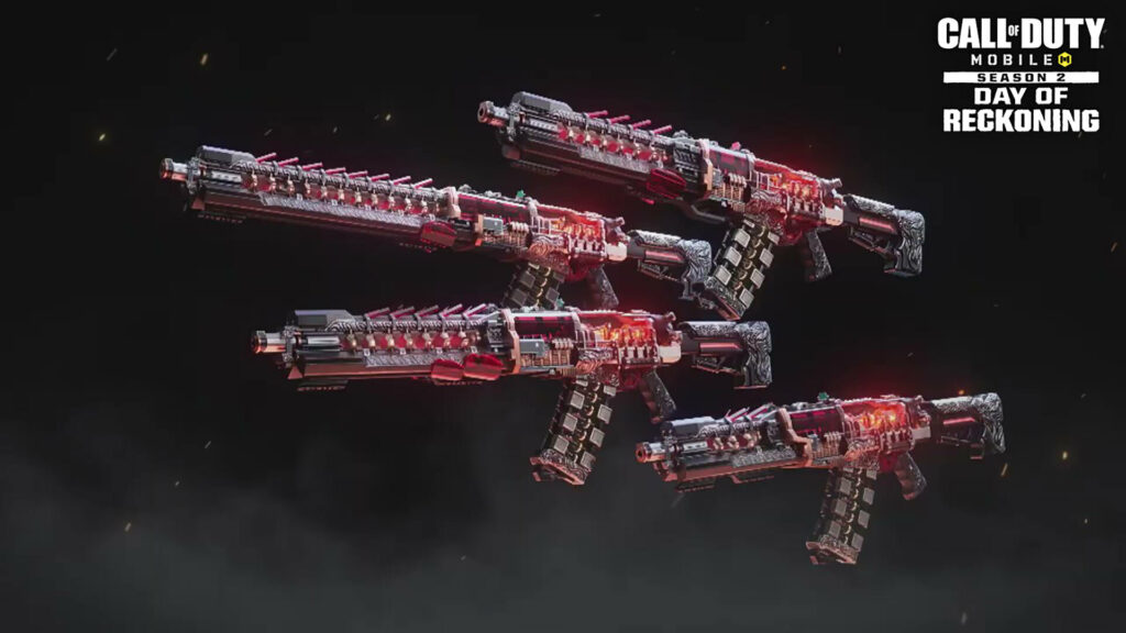 Call of Duty Mobile Mythic Weapons