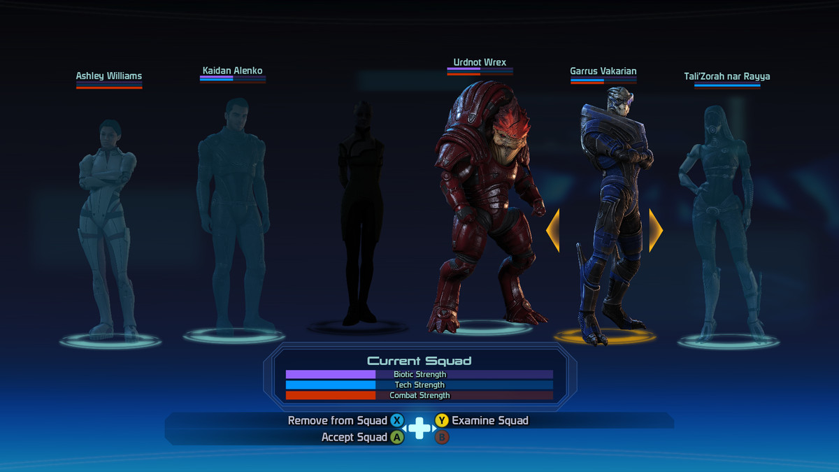 Change Squad Members in Mass Effect Legendary Edition