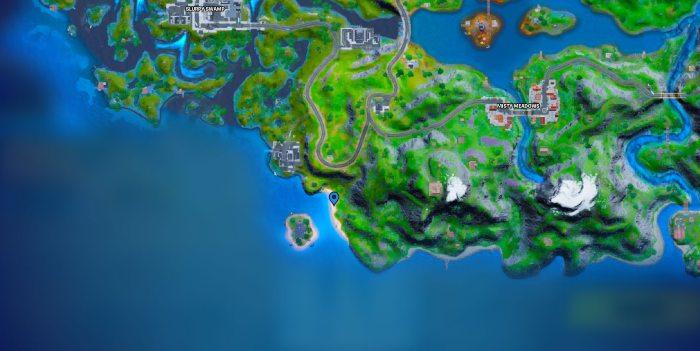 Destroy Special Sandcastles Fortnite Map 1