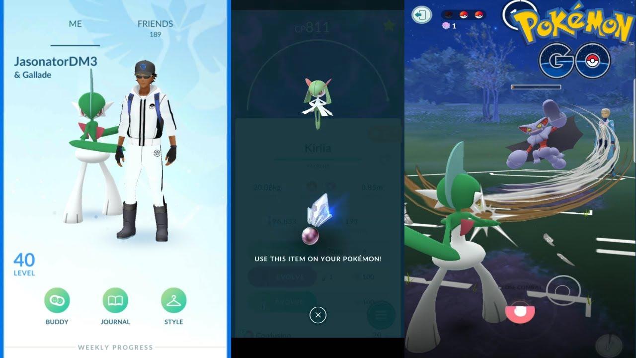 Gallade in Pokemon Go