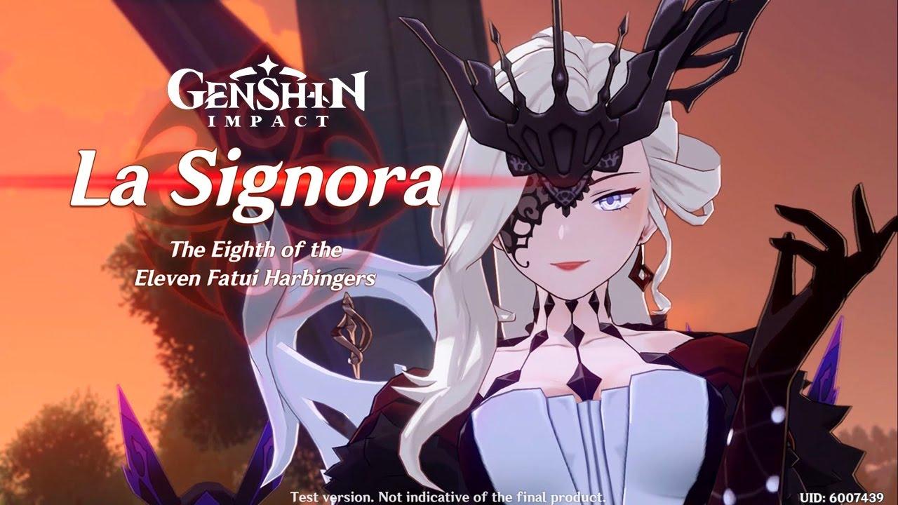 Genshin Impact La Signora full walkthrough