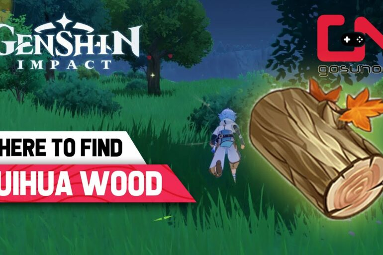 Genshin Impact guide to find cuihua wood
