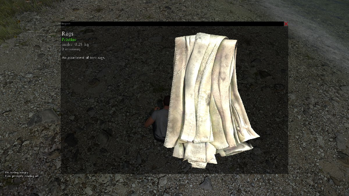 Guide to make a Fire in DayZ